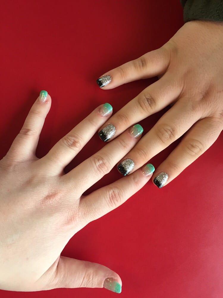 Pink white nails spa 64 photos nail salons 7028 for 3d nail salon midvale utah
