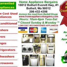 Home Appliance Bargains 11 Reviews Appliances Amp Repair