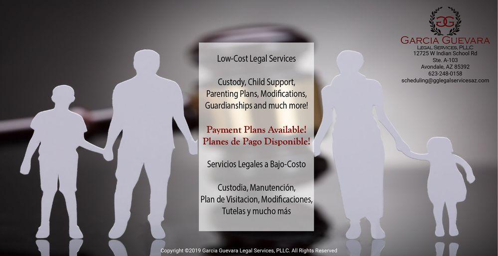 Garcia Guevara Legal Services: 12725 W Indian School Rd, Avondale, AZ