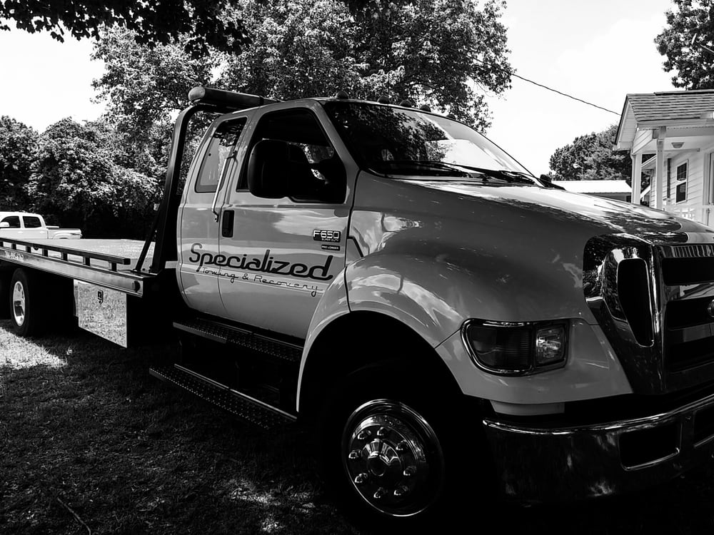 Specialized Towing: Denver, NC