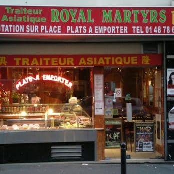 Royal martyrs traiteur 16 rue des martyrs 9 me paris for Restaurant miroir rue des martyrs