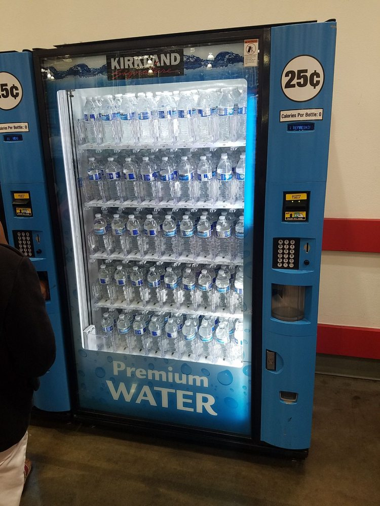 Costco Auto Services >> 25 cents for water vending machine! - Yelp