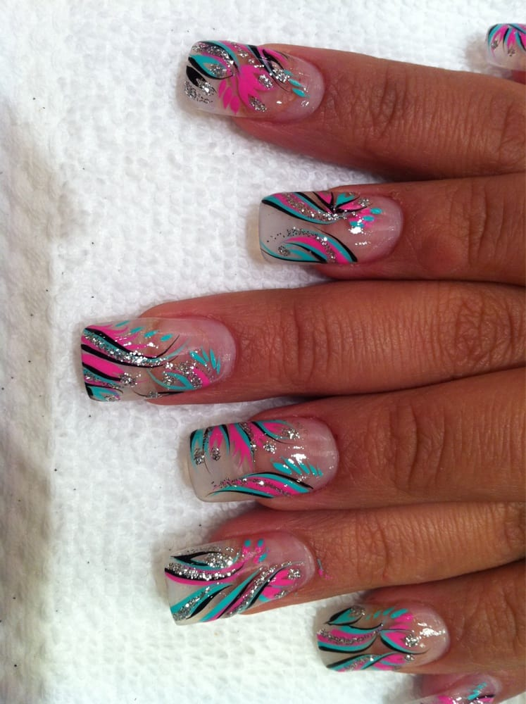 - Beautiful No Chip Manicure With Designs - Yelp