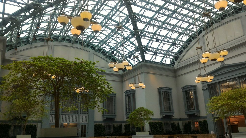 9th Floor Winter Garden Chicago Knows How To Do Libraries