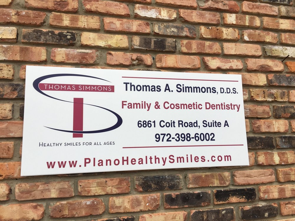 Thomas A Simmons, DDS: 6861 Coit Rd, Plano, TX