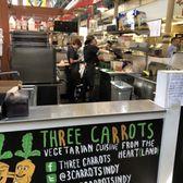 Three Carrots 221 Photos 282 Reviews Vegetarian 222 E Market
