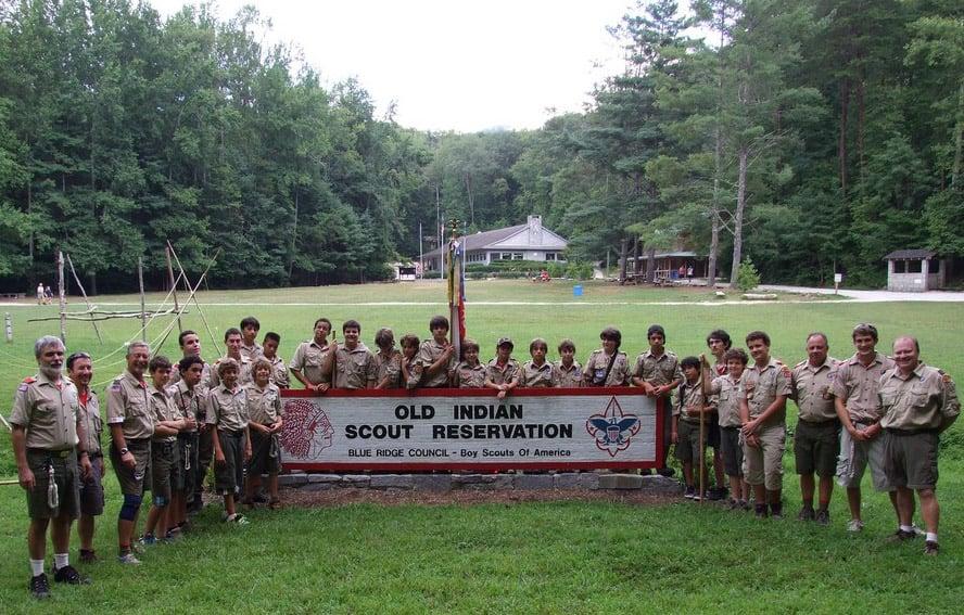BSA: Blue Ridge Council - Camp Old Indian - Taylors, SC - Summer