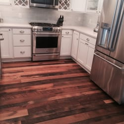 Photo Of Carousel Carpets   Bowie, MD, United States. Reclaimed Barn Wood  Installed