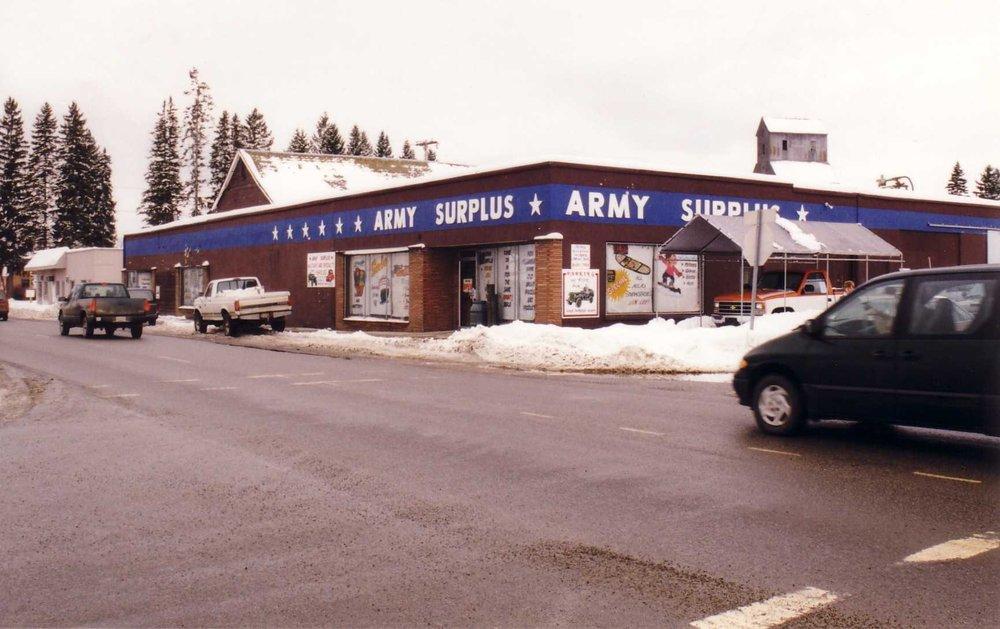Army Surplus: 501 Oak St, Sandpoint, ID