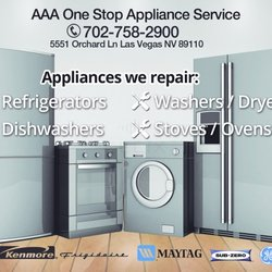 Aaa One Stop Appliance Service 16 Photos Appliances