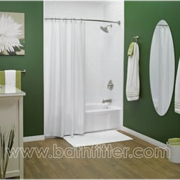 Bath fitter acrylic bathtub liners bathwalls plumbing for Bathroom fitters near me