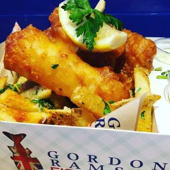 Gordon ramsay fish chips 661 photos 324 reviews for Gordon ramsay las vegas fish and chips