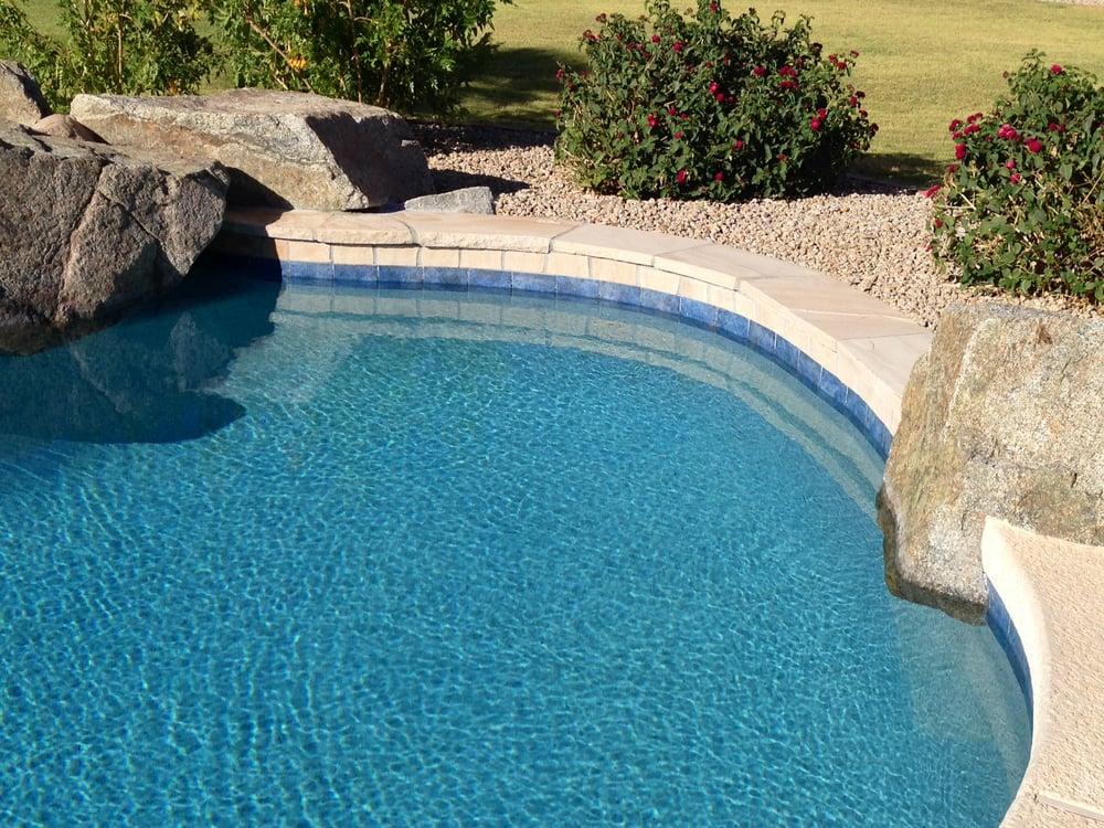 Rolled Bond Add Tile Blue Lagoon Pebble Tec