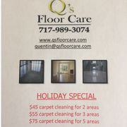 Statewide Carpet Cleaning. Q's Floor Care