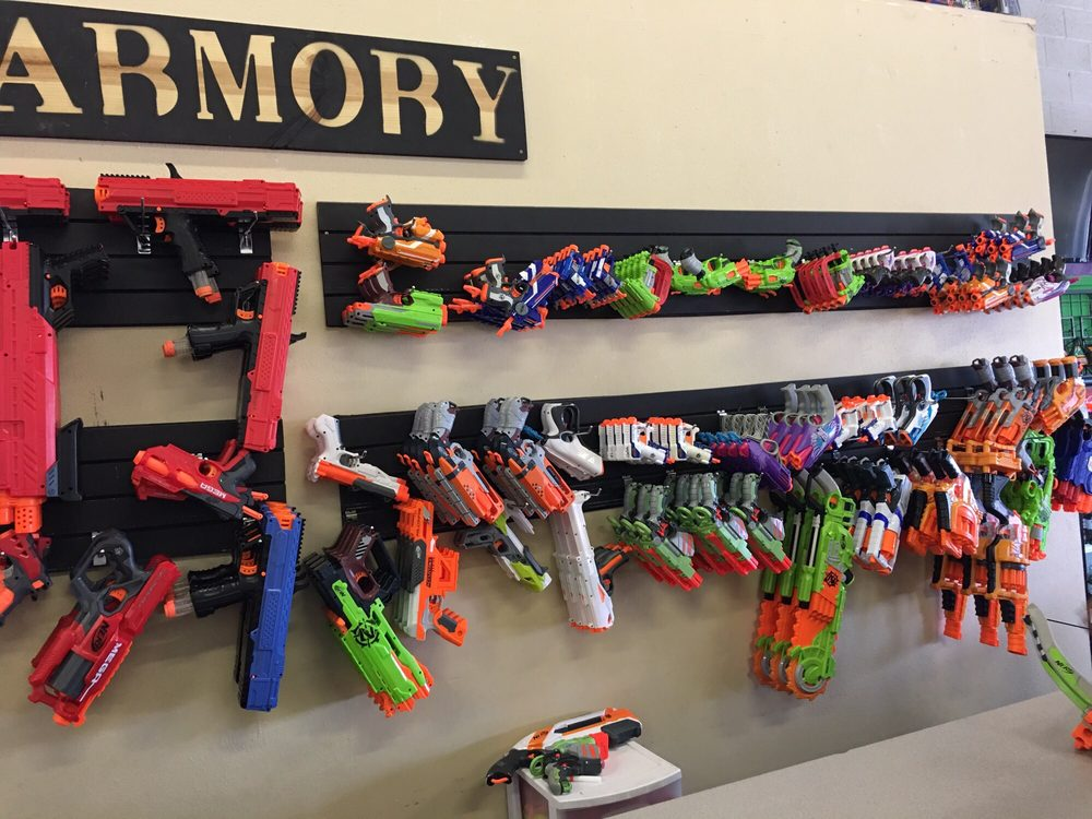 Photo of Nerfed - Boise, ID, United States. A huge selection of Nerf
