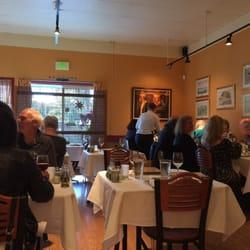 Photo Of Au Midi Restaurant Bistrot Aptos Ca United States Interior
