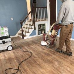 Photo Of CT Hardwood Floor Refinishing   Waterford, CT, United States.  Sanding Hardwood
