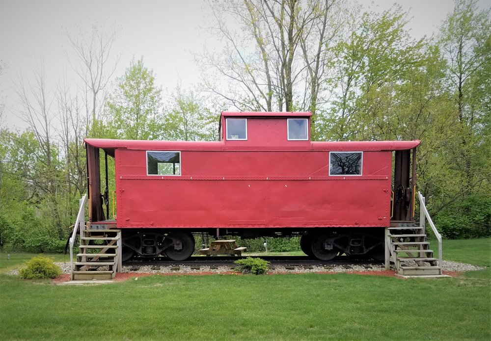 Upland Depot Park: 107 Railroad St, Upland, IN