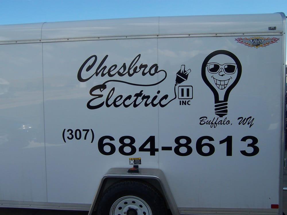 Chesbro Electric: 2651 4th Ave W, Buffalo, WY