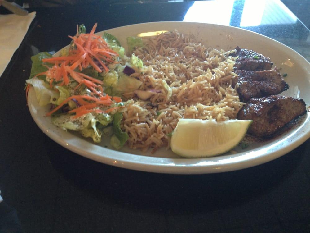 Teka kabob lunch with seasoned basmati yelp for Aryana afghan cuisine
