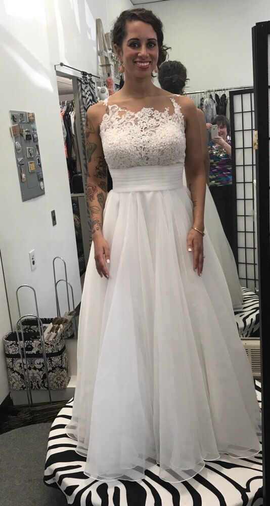 Happy Bride After Alterations To Her Wedding Dress Yelp