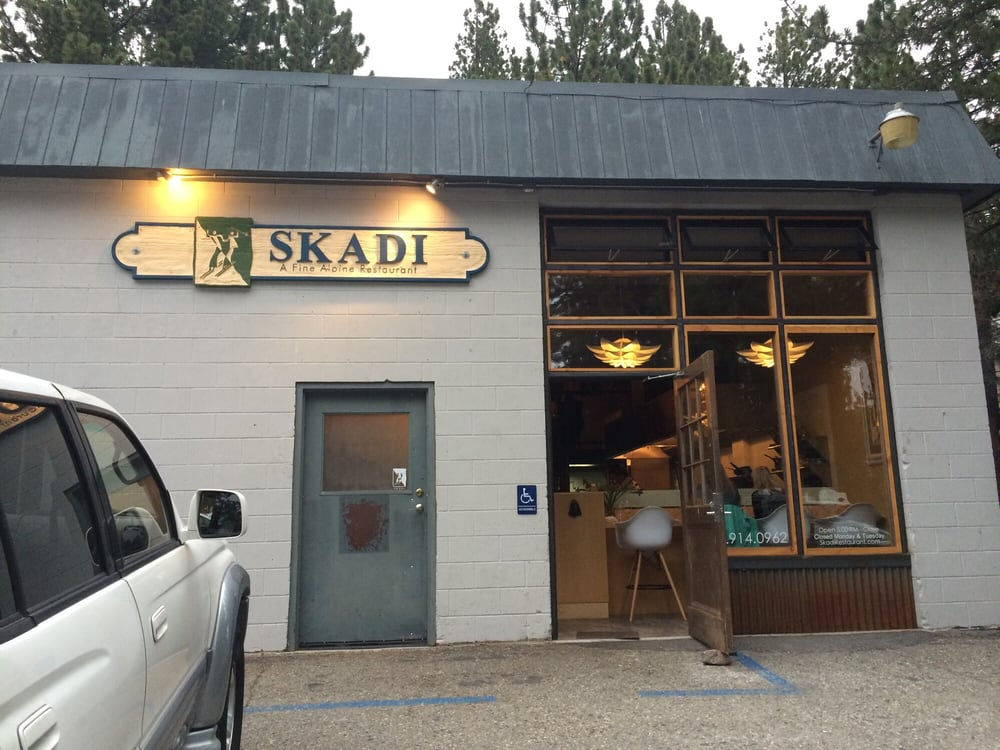 Mammoth Lakes Restaurants Skadi