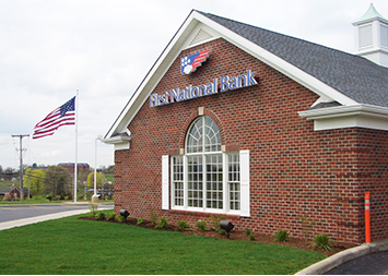First National Bank: 110 S Main St, Davidsville, PA