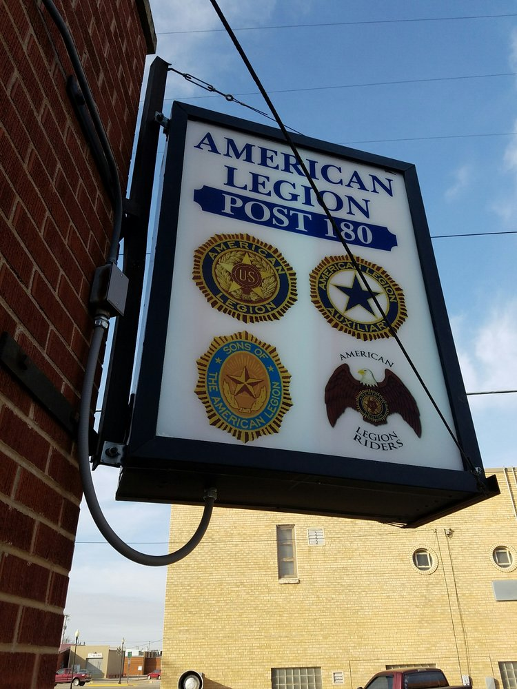 American Legion: 1011 Kansas Ave, Great Bend, KS