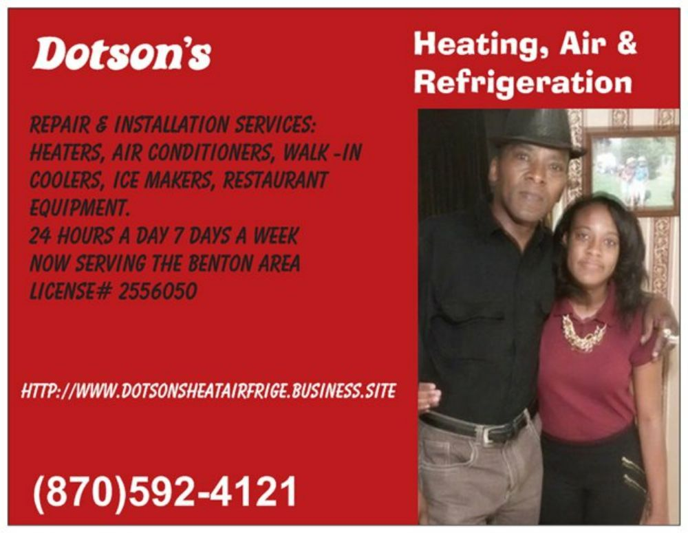 Dotson's Heating, Air & Refrigeration: Benton, AR