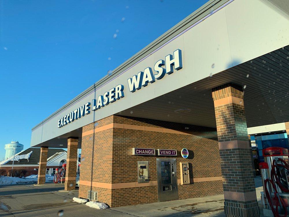 Executive Laser Wash: 805 S 50th St, West Des Moines, IA