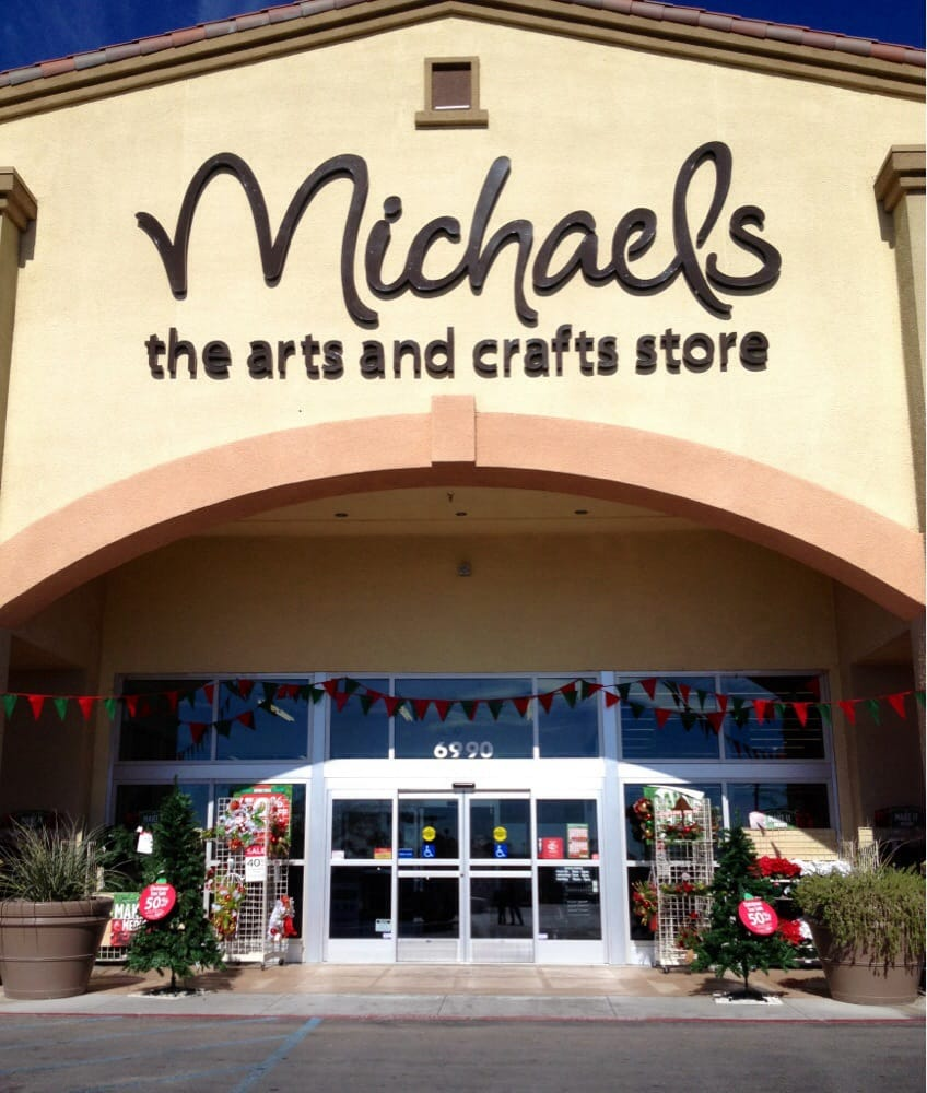 Michaels 21 photos 21 reviews arts crafts 6990 n for Arts and crafts las vegas