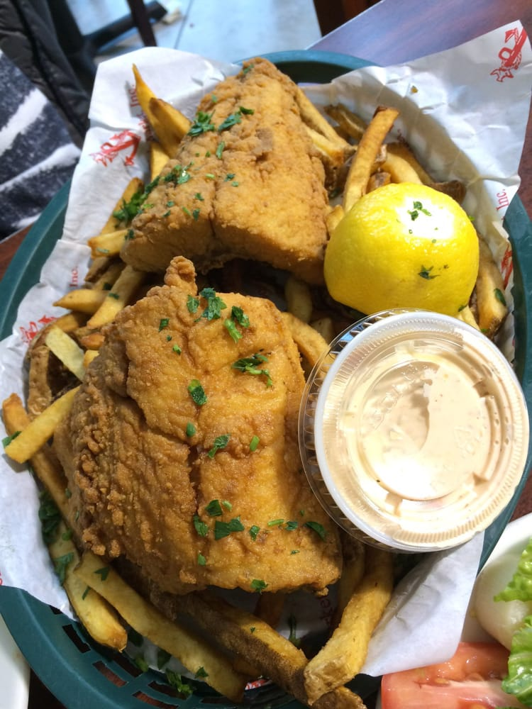 Fried perch and fries yelp for Boston fish market