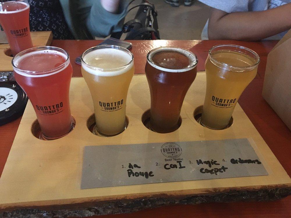 Quattro Goomba's Virginia Craft Brewery