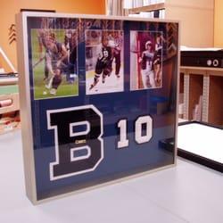 photo of big picture framing burlington vt united states burlington hs memorabilia