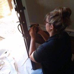 Photo Of Dallas Door Refinishing   McKinney, TX, United States. Putting The  Door