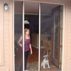 Photo Of Arizona Breeze Retractable Screen Doors   Prescott, AZ, United  States. Double