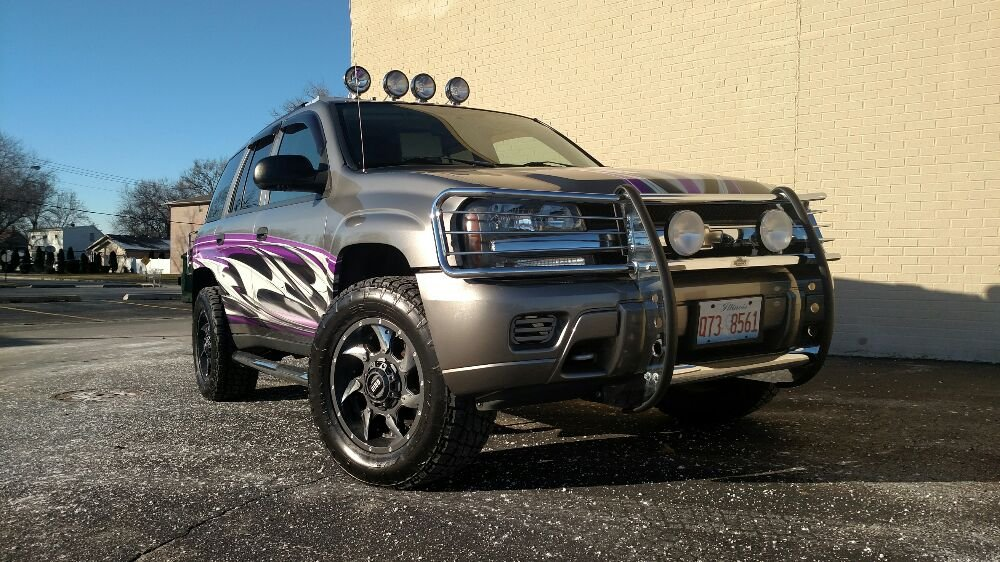 2005 chevy trailblazer lifted new wheels and tires stereo custom photo of tuffy tire auto service center lake in the hills il mozeypictures Images