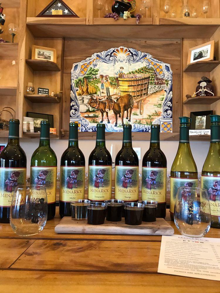 MenaRick Vineyard & Winery: 328 Luffman Rd, Ronda, NC