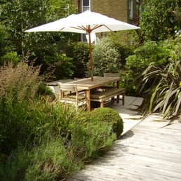 Foto De Tim Mackley Garden Design   London, Reino Unido. Seating Area  Surrounded By