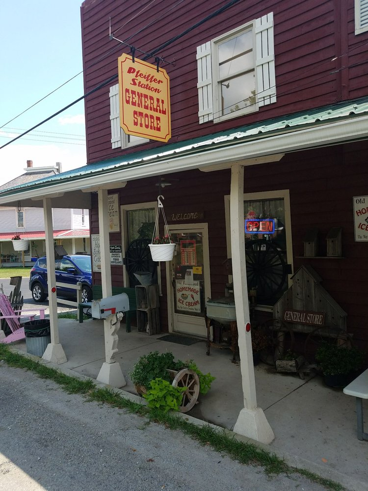 Pfeiffer Station General Store: 19950 County Road 144, Kenton, OH