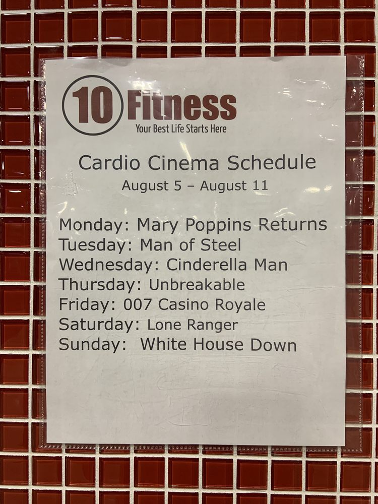 Social Spots from 10 Fitness Searcy