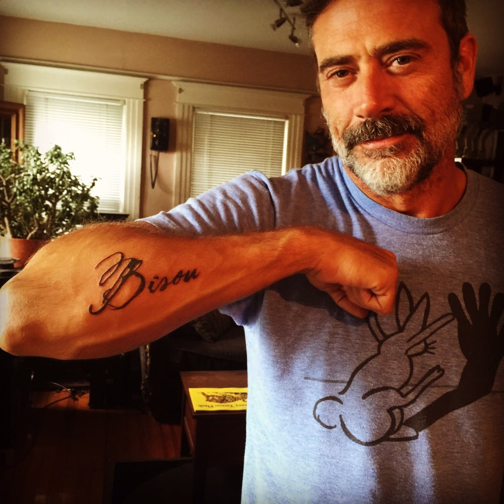 Jeffrey Dean Morgan S Newest Ink By Keavan Of Doc Rivers