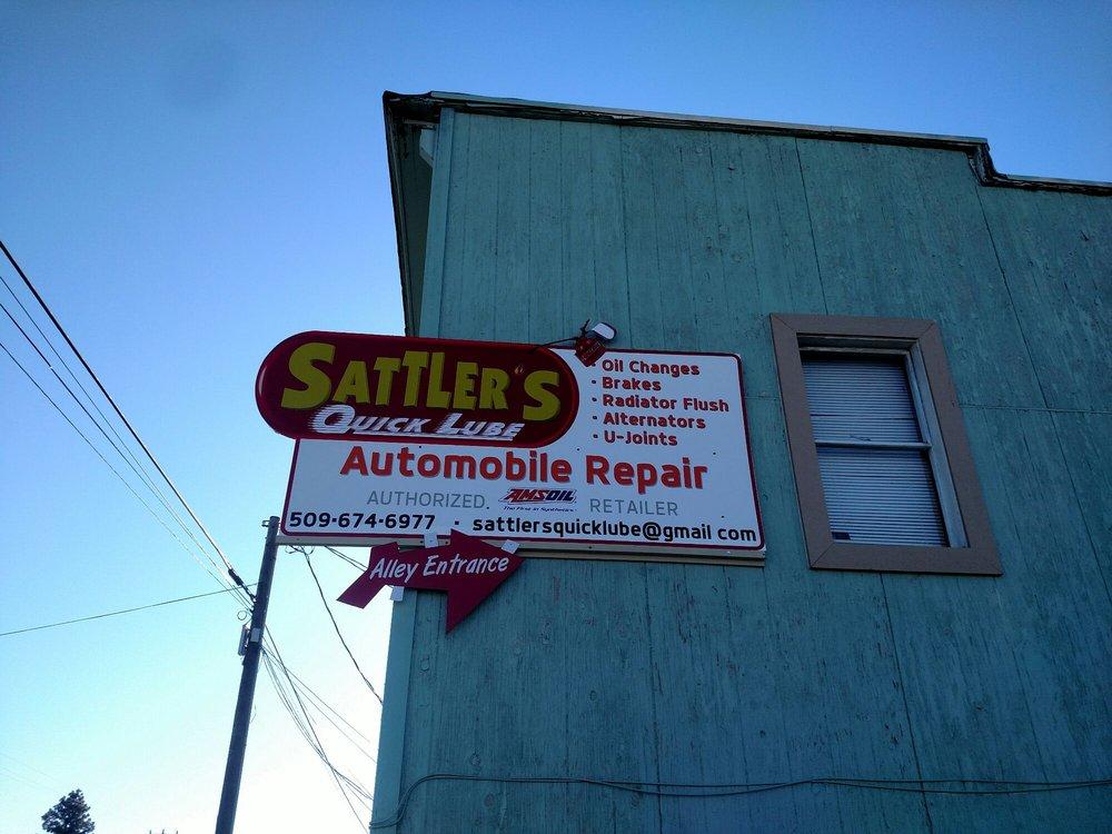 Sattlers Quick Lube: 7185 E 1st St, Cle Elum, WA