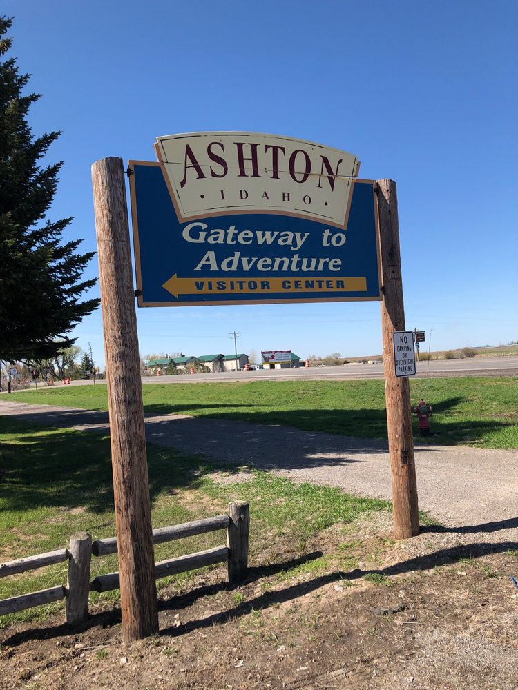 Ashton Visitor's Center: 828 Highway 20, Ashton, ID