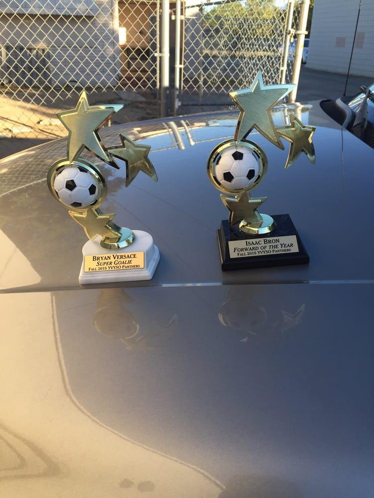 Custom Trophies & U Neek Awards: 968 Beaumont Ave, Beaumont, CA
