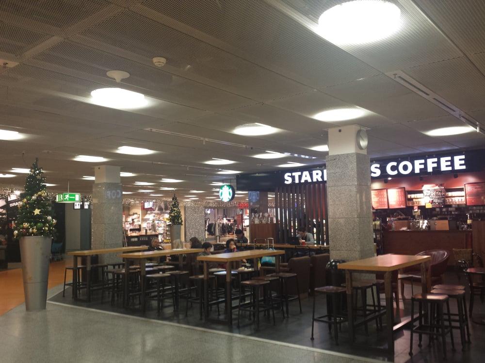 starbucks coffee shop terminal 1 departures c landside flughafen frankfurt am main. Black Bedroom Furniture Sets. Home Design Ideas