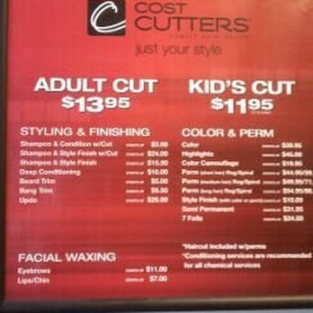price of haircut at cost cutters cost cutters hairdressers 7850 n silverbell rd ste 120 3763
