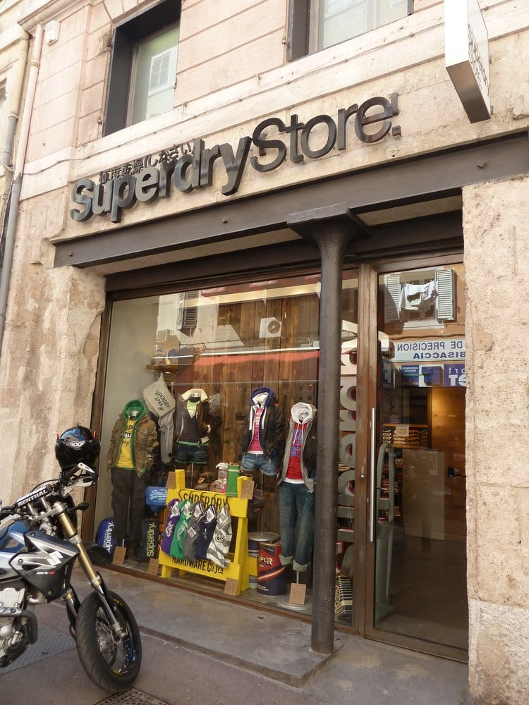 superdry store ferm v tements pour femmes 2 rue de lulli op ra marseille france. Black Bedroom Furniture Sets. Home Design Ideas