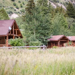 Photo Gallery - Old Mill Log Cabins, Wyoming  Old Log Cabins Wyoming