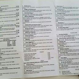 Thai Restaurant Canton Ga Menu